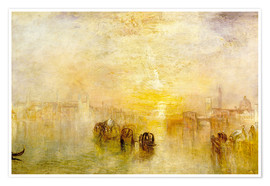 Poster  Aller au bal (San Martino) - Joseph Mallord William Turner