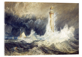 Verre acrylique  Bell Rock Lighthouse - Joseph Mallord William Turner