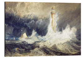 Tableau en aluminium  Phare de Bell Rock - Joseph Mallord William Turner