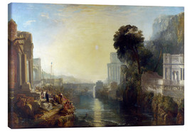 Tableau sur toile  Didon construisant Carthage - Joseph Mallord William Turner