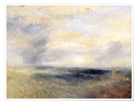 Poster  Margate depuis la mer - Joseph Mallord William Turner