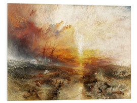 Tableau en PVC  Le Négrier - Joseph Mallord William Turner