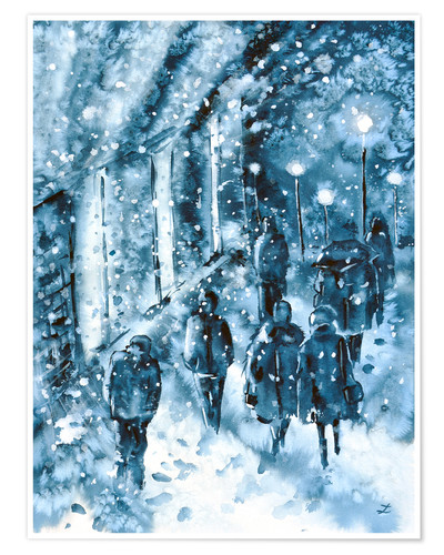 Poster Winter in the City