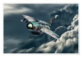 Poster Mig 21