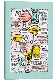 Toile  Have A Drink on Me - Cynthia Frenette
