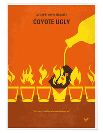 Poster Coyote Girls (anglais)