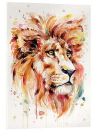 Verre acrylique  All Things Majestic (Lion) - Sillier Than Sally