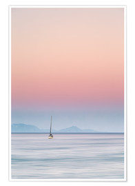 Poster  Sailboat on the sea - Filtergrafia