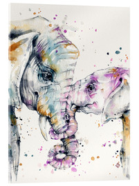 Verre acrylique  That Type Of Love (elephants) - Sillier Than Sally