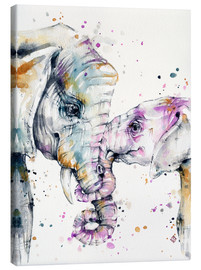 Toile  That Type Of Love (elephants) - Sillier Than Sally