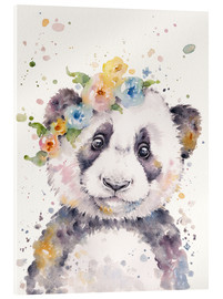 Verre acrylique  Petit panda - Sillier Than Sally