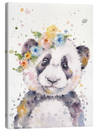 Toile  Little Panda - Sillier Than Sally