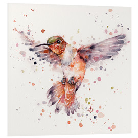 Tableau en PVC  Rufous le colibri - Sillier Than Sally