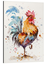 Alu-Dibond  Roosters About - Sillier Than Sally