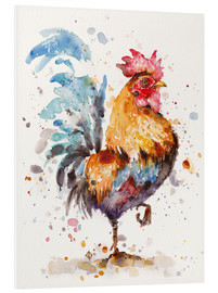 Tableau en PVC  Le coq - Sillier Than Sally