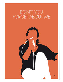 Poster Simple Minds, Don't You Forget About Me