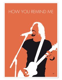 Poster Nickelback, How You Remind Me