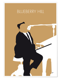 Poster Fats Domino, Blueberry Hill