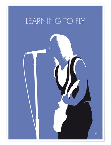 Poster Tom Petty, Learning To Fly