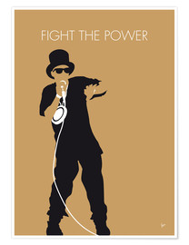 Poster Public Enemy, Fight The Power