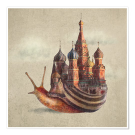 Poster  The Snail's Daydream Poster Lounge - Eric Fan