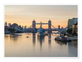 Poster  Colourful sunrises in London - Mike Clegg Photography