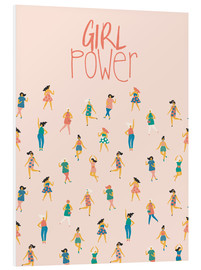Tableau en PVC  Girl power