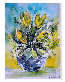 Poster Tulipes nature morte
