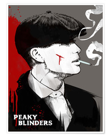 Poster  Peaky Blinders - Tommy Shelby - 2ToastDesign