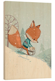 Kidz Collection - Fox with sledge