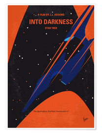 Poster Star Trek Into Darkness (anglais)