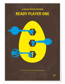 Poster Ready Player One (anglais)