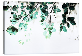 Toile  Pastel Leaves 1 - Mareike Böhmer Photography