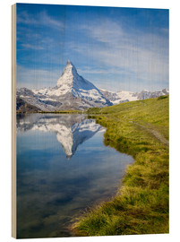 Bois  Matterhorn and Stellisee in the Swiss Alps, canton of Valais, Switzerland - Jan Christopher Becke