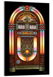 Verre acrylique  Vintage Jukebox - Michael Fishel