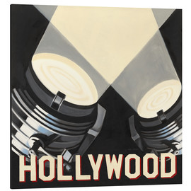 Tableau en aluminium  Hollywood - Marco Fabiano