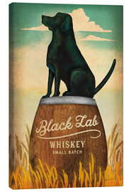 Tableau sur toile  Whisky Black Lab - Ryan Fowler