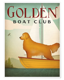Poster Golden Boat Club