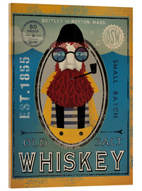 Tableau en verre acrylique  Old Salt Whiskey - Ryan Fowler