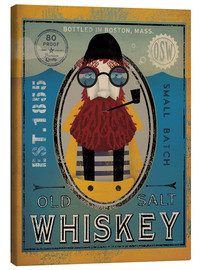 Toile  Fisherman IV Old Salt Whisky - Ryan Fowler