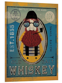 Tableau en PVC  Old Salt Whiskey - Ryan Fowler