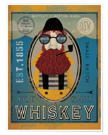 Poster  Fisherman IV Old Salt Whisky - Ryan Fowler