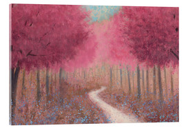 Verre acrylique  Forest Pathway au printemps - James Wiens