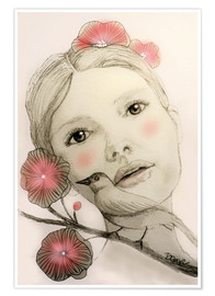 Poster  melodieinblush - Sylvie Demers