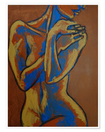 Poster Graceful Lady - Female Nude