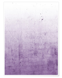 Poster Violet ombre