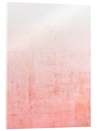 Verre acrylique  Ombre rose - Emanuela Carratoni