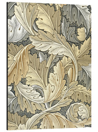 Tableau en aluminium  Acanthe - William Morris