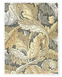 Poster  Acanthe - William Morris