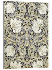 Tableau en aluminium  Mouron - William Morris